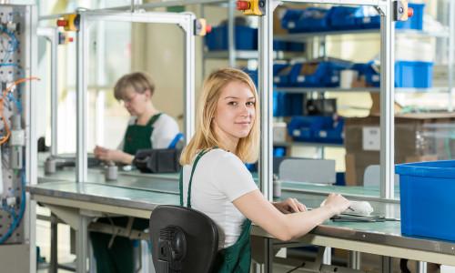 Práca v priemyselnej výrobe